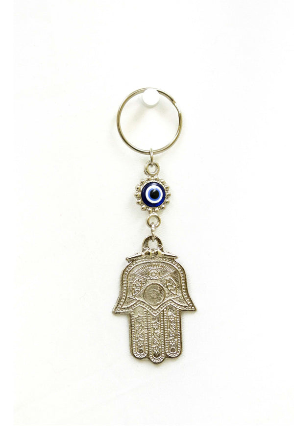 Turkish Evil Eye & Hasma Key Chain - Trendz & Traditionz Boutique