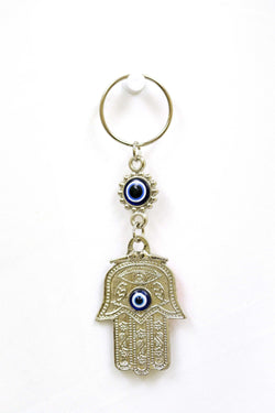 Turkish Evil Eyes & Hamsa Key Chain - Trendz & Traditionz Boutique