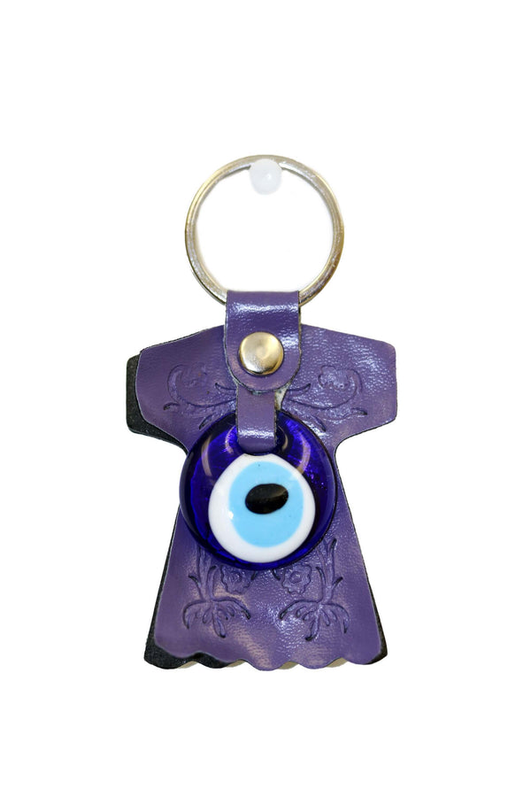 Blue Turkish Evil Eye Key Chain - Trendz & Traditionz Boutique