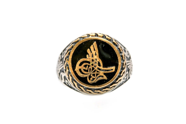 Tughra Turkish Ottoman Ring - South Asian Fashion & Unique Home Decor