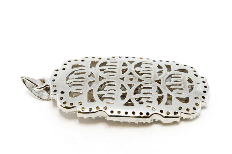 Silver Pendant With Allah Calligraphy - Trendz & Traditionz Boutique