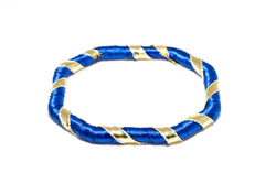Blue Ribbon Bangle - Indian & Pakistani Traditional Jewelry