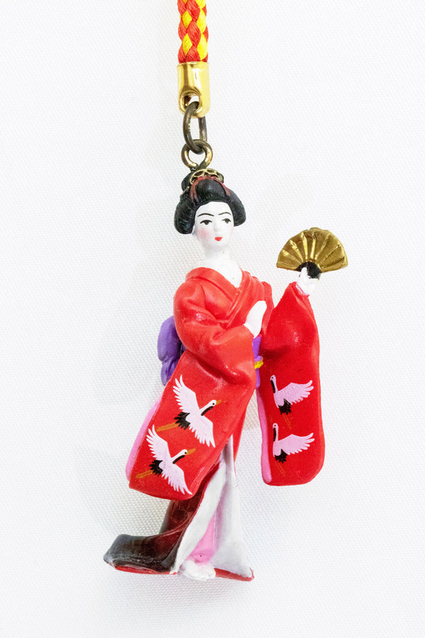 Geisha Key Chain - Trendz & Traditionz Boutique