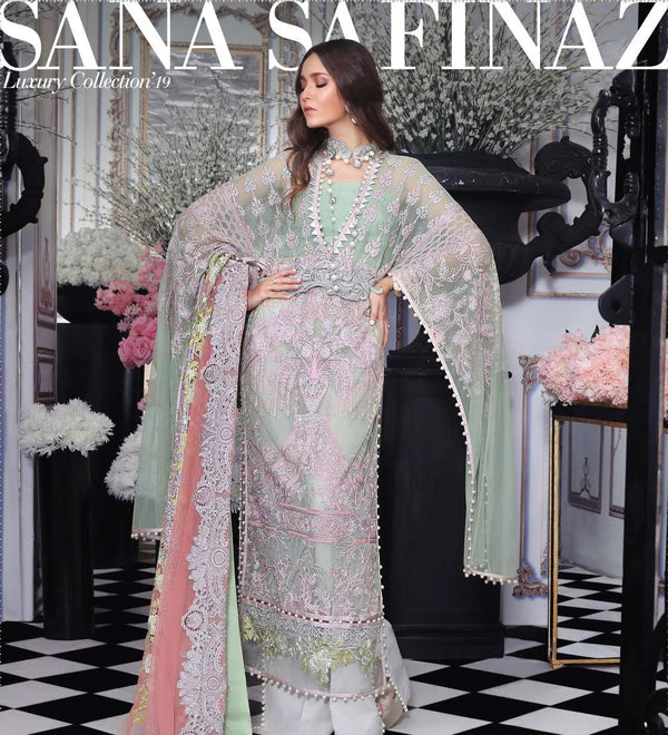 Green Salwar Kameez- Suit - Sana Safinaz - Trendz & Traditionz Boutique