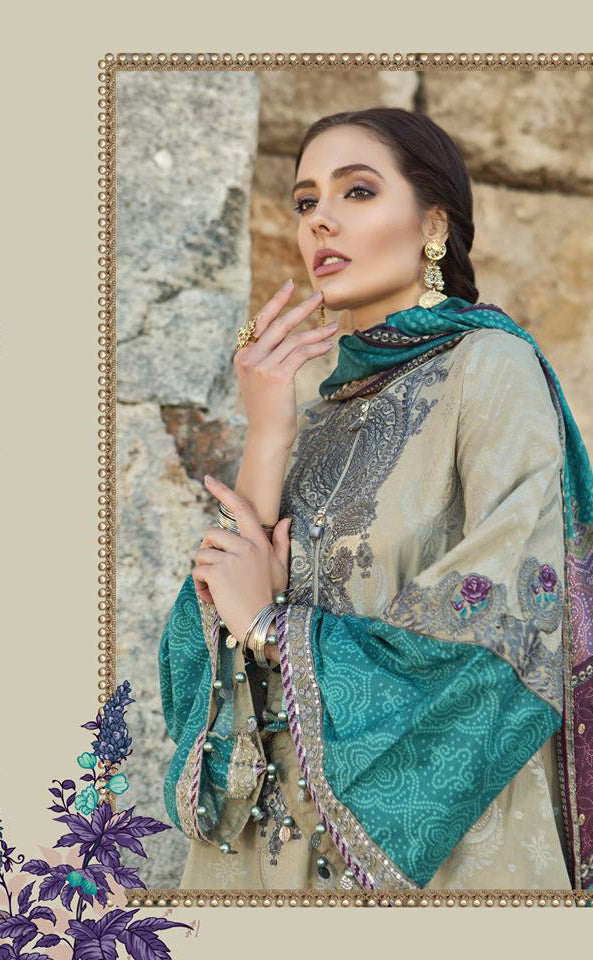 Maria B. Summer 2019 Cotton-Lawn Suit- Trendz & Traditionz Boutique
