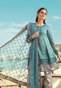 Maria B. Summer 2019 Lawn-Cotton Suit- Trendz & Traditionz Boutique
