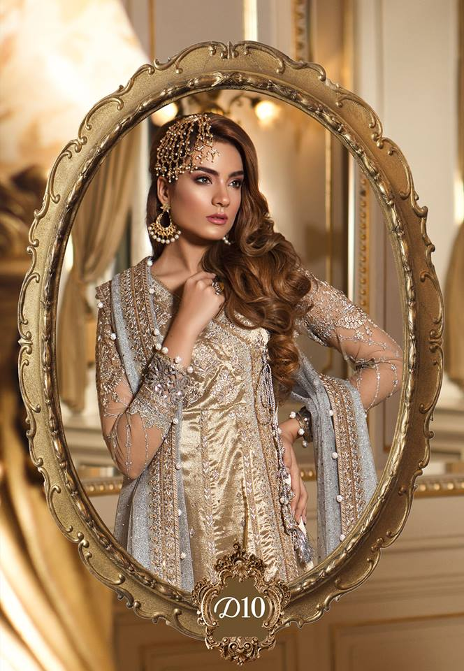 Maria b Party Wear Suit-Dress-Salwar Kameez - Trendz & Traditionz Boutique