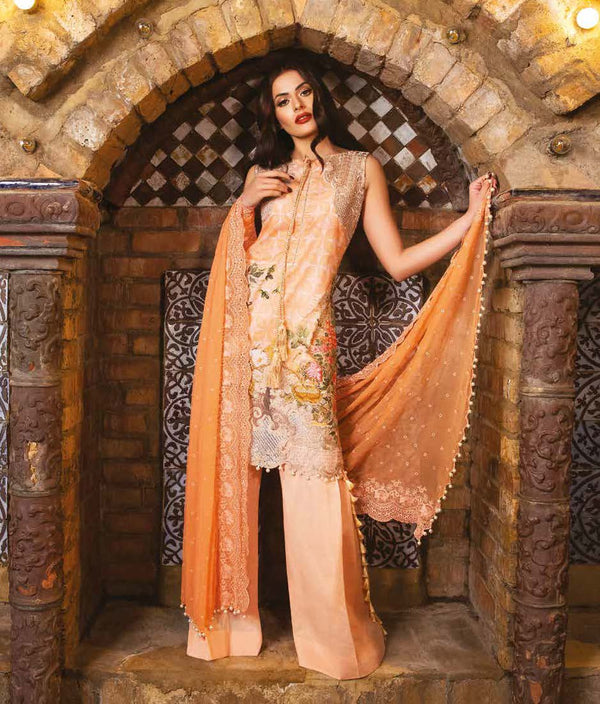 Sobia Nazir Summer Cotton-Lawn Suit - Trendz & Traditionz Boutique