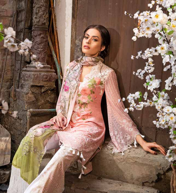 Sobia Nazir Cotton-Lawn Summer 2019 Suit- Trendz & Traditionz Boutique
