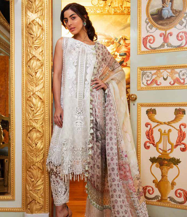 Green Net Salwar Kameez-Suit - Sobia Nazir Lawn 2019 - Trendz & Traditionz Boutique