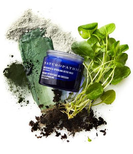 Watercress and Spirulina Detox Mask