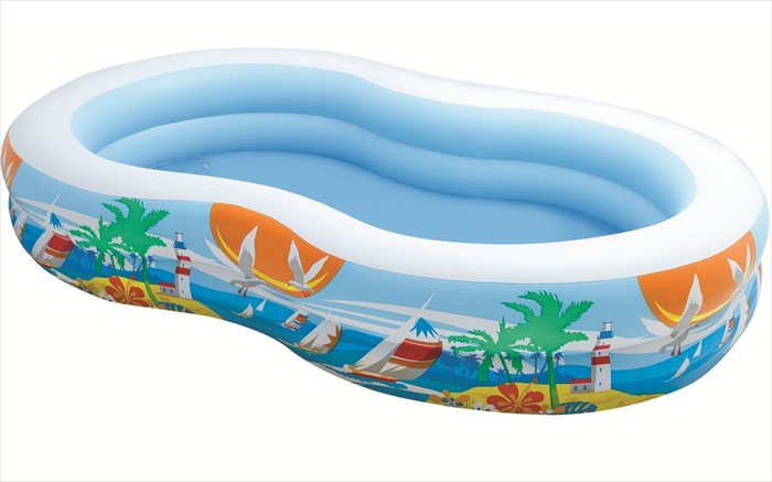 Intex opblaaszwembad 'Paradise Seaside'