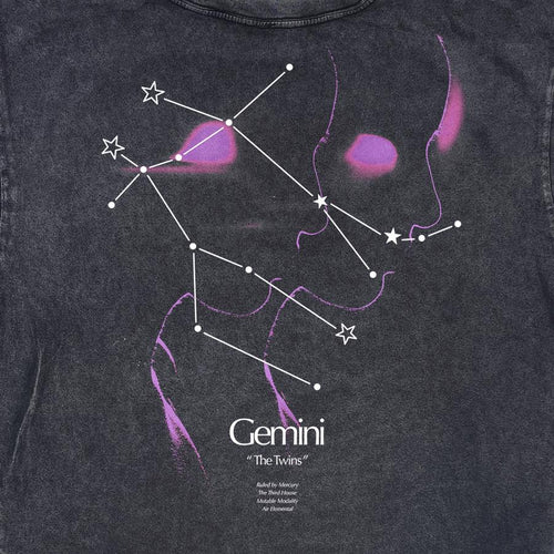 GEMINI CONSTELLATION VINTAGE TEE