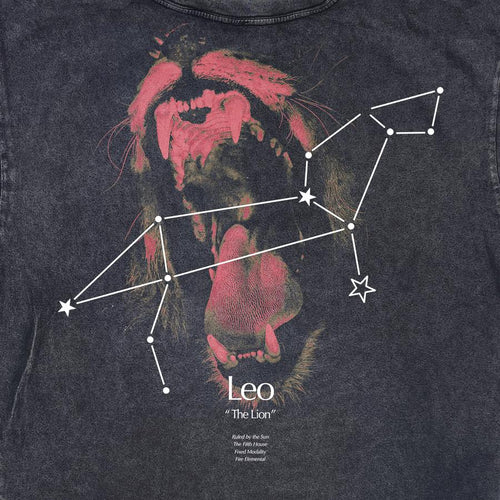 LEO CONSTELLATION VINTAGE TEE