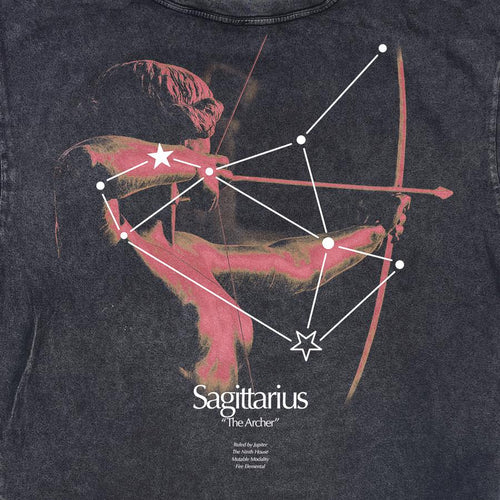 SAGITTARIUS CONSTELLATION VINTAGE TEE