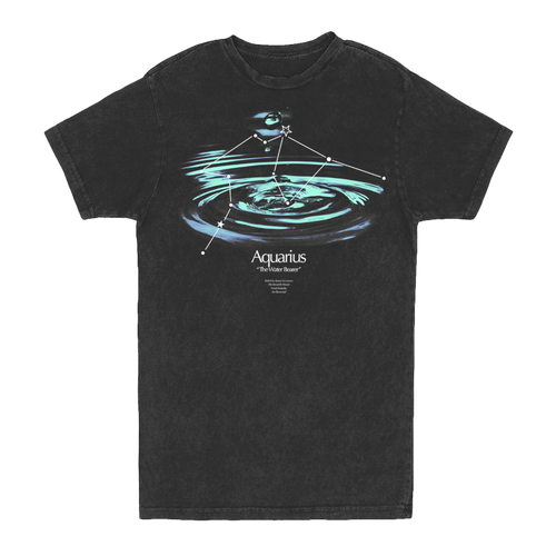 AQUARIUS CONSTELLATION VINTAGE TEE