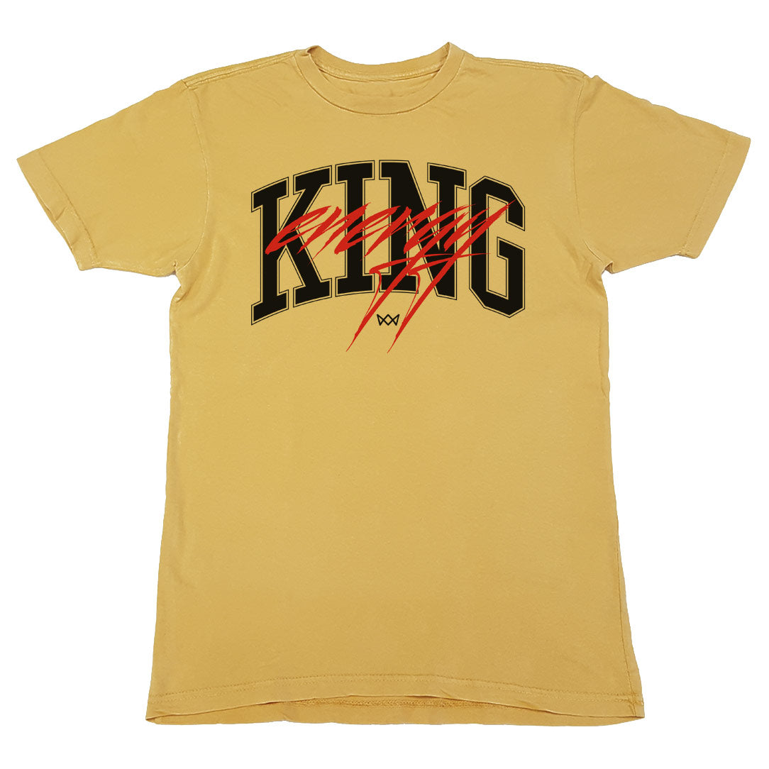King Energy Yellow Vintage Tee