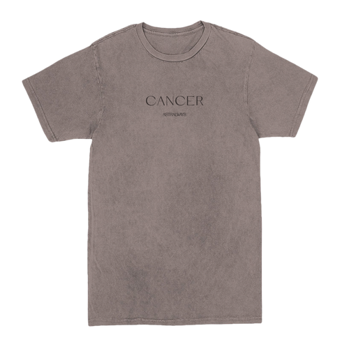 CANCER ORIGIN VINTAGE TEE
