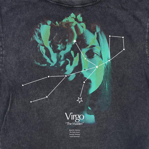 VIRGO CONSTELLATION VINTAGE TEE
