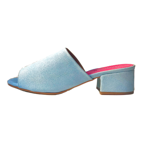 Zapatos Mule Williamsburg azul cielo