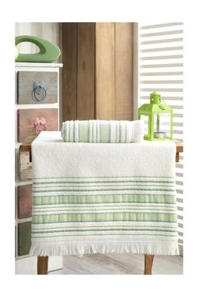 Fiesta Bath Towel Set 70x140 - 50x90 Vip Pistachio Green
