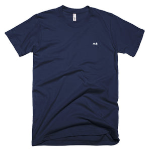Are.na Navy Unisex T-shirt