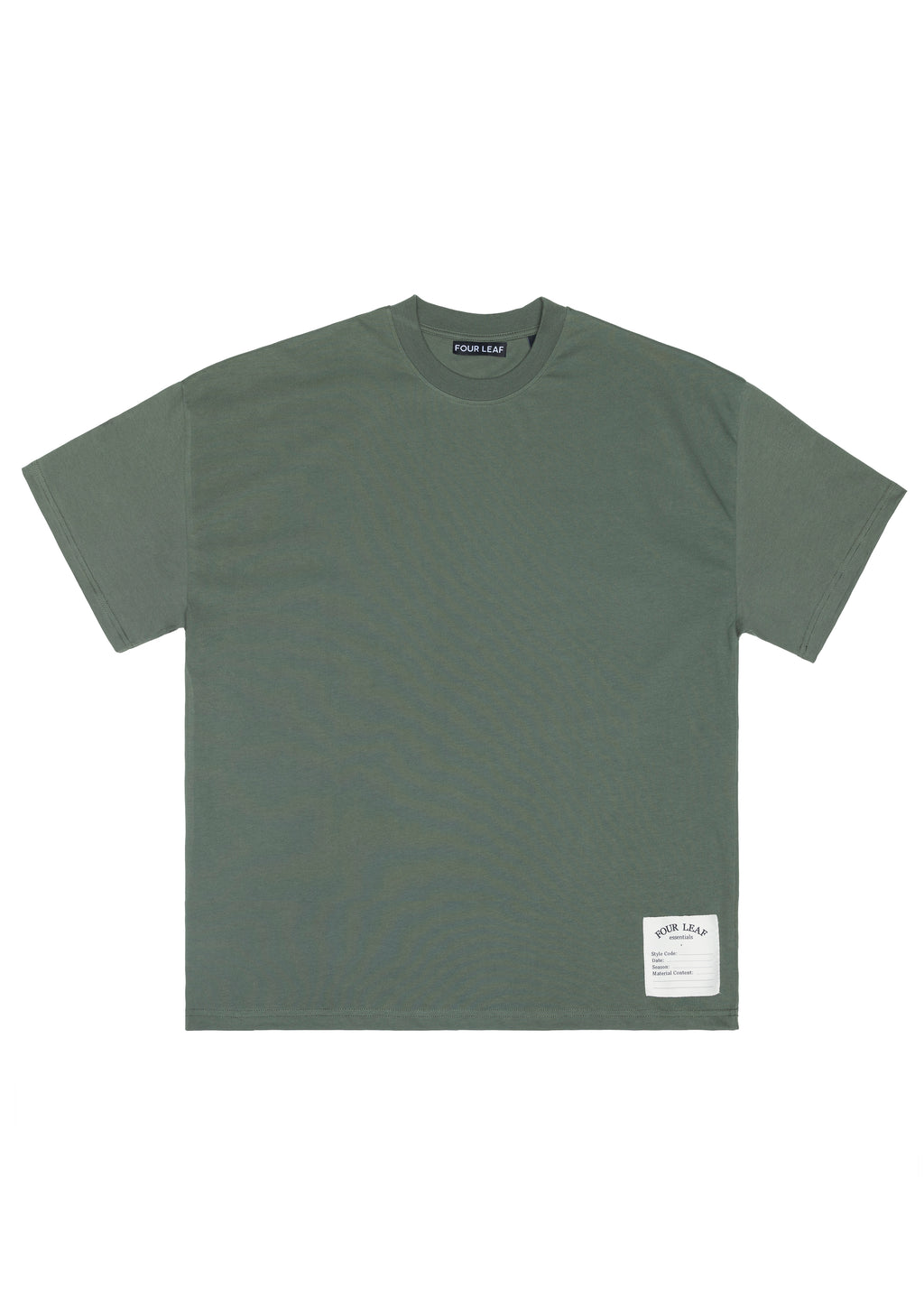OAK FIELD TEE OLIVE WOMENS