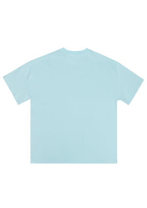 BURTON-PORT TEE BLUE MENS