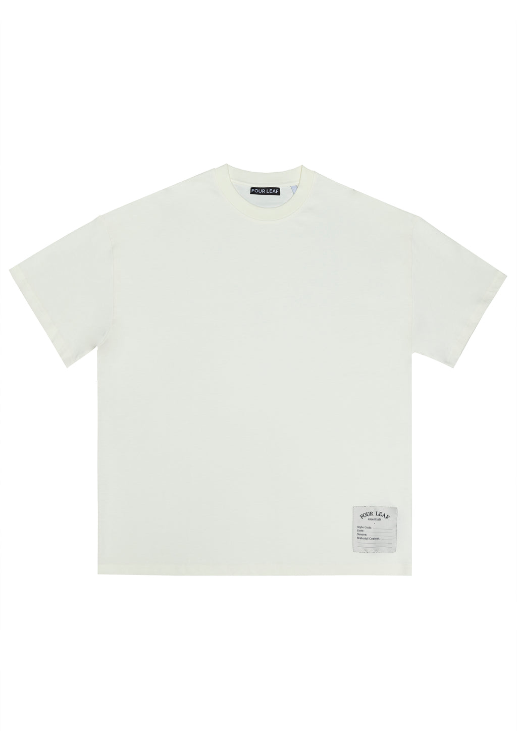 THE CALLAN TEE CREAM MENS