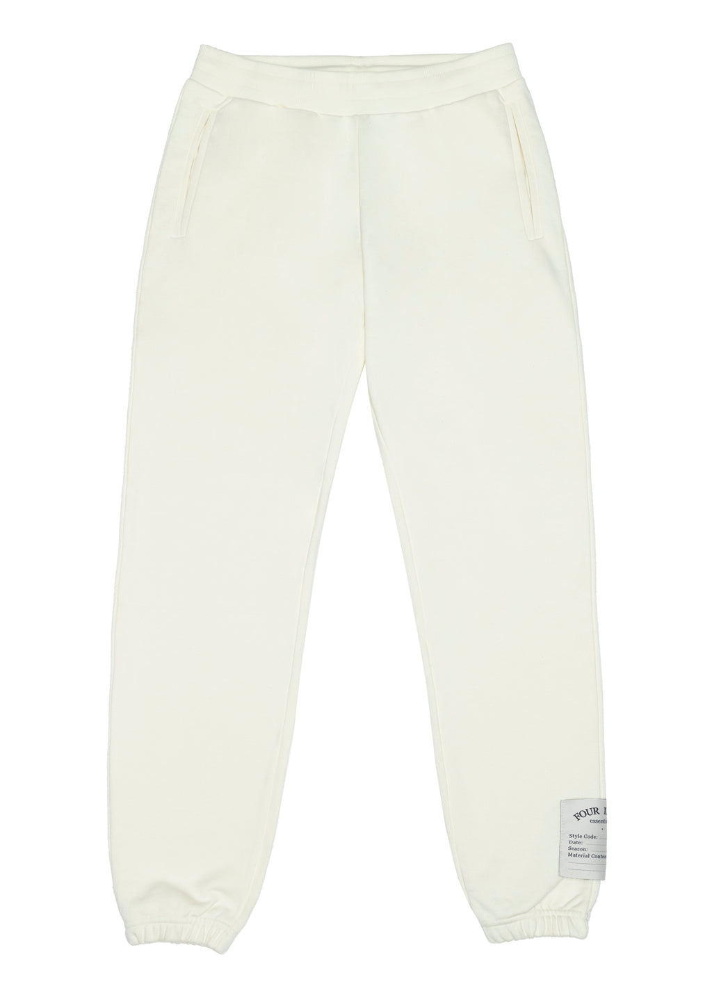 THE CALLAN JOGGERS CREAM MENS