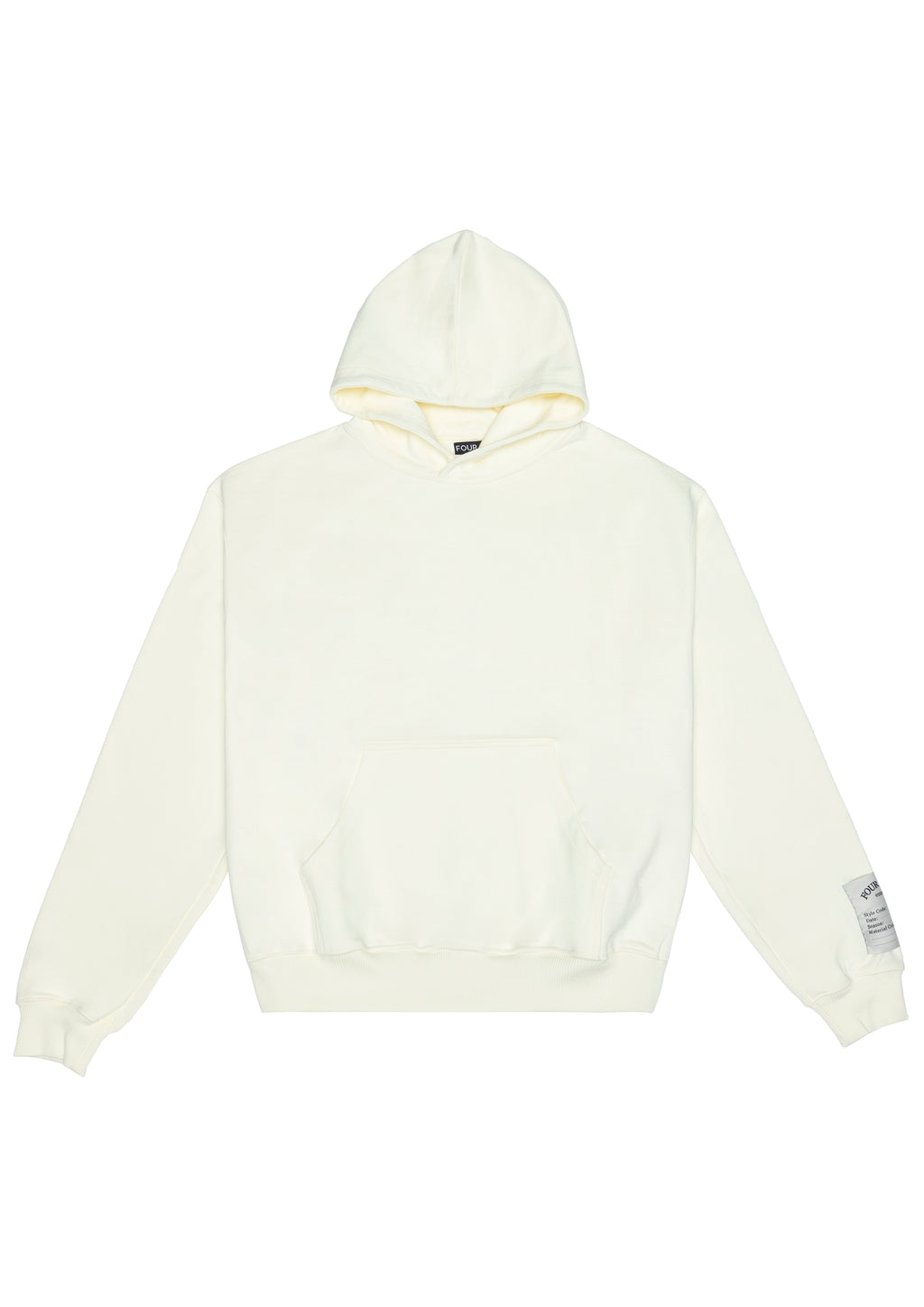 THE CALLAN HOODIE CREAM MENS