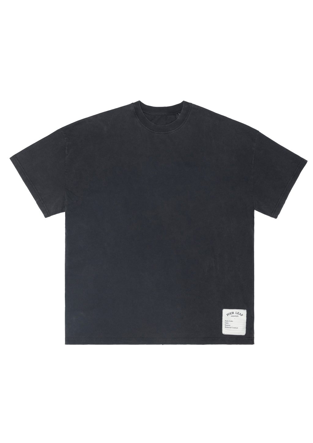 GRANGE TEE VINTAGE GREY WASHED MENS