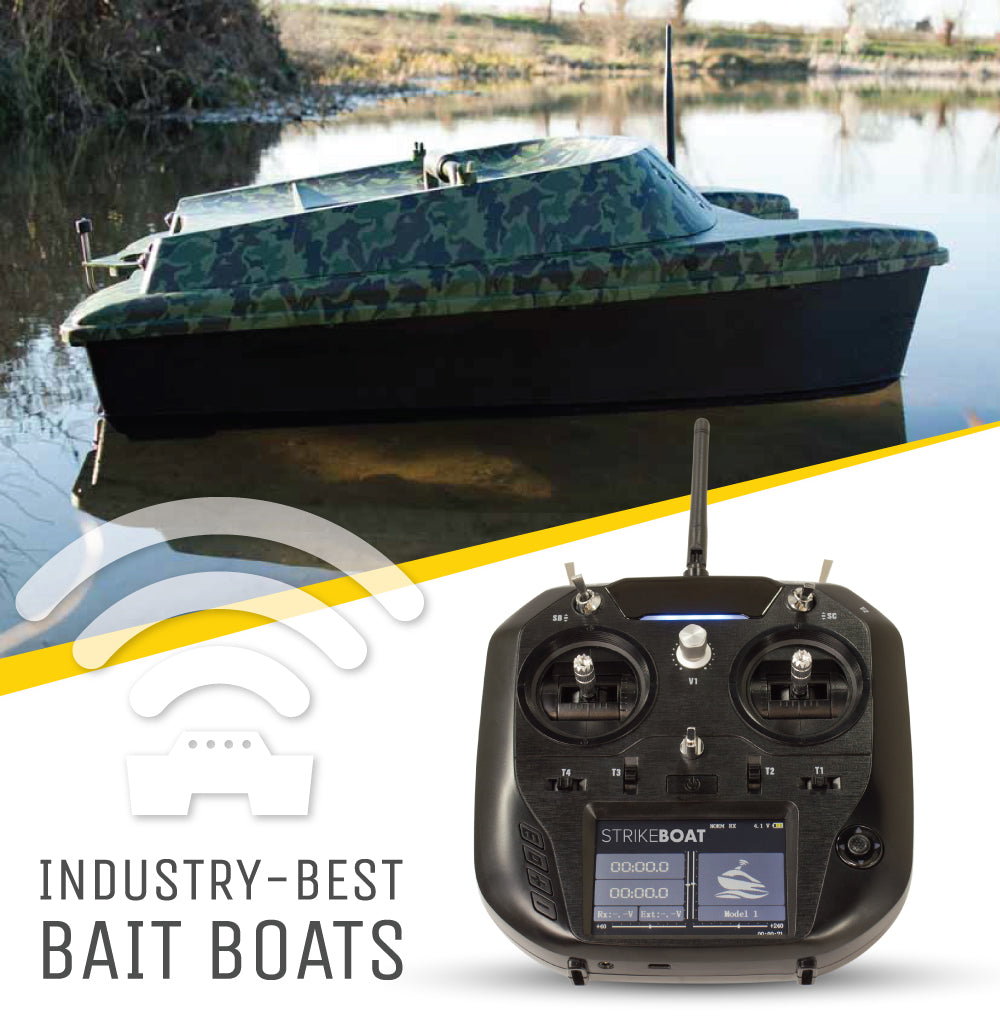 Introducing StrikeBoat Radio Controlled Bait Boats