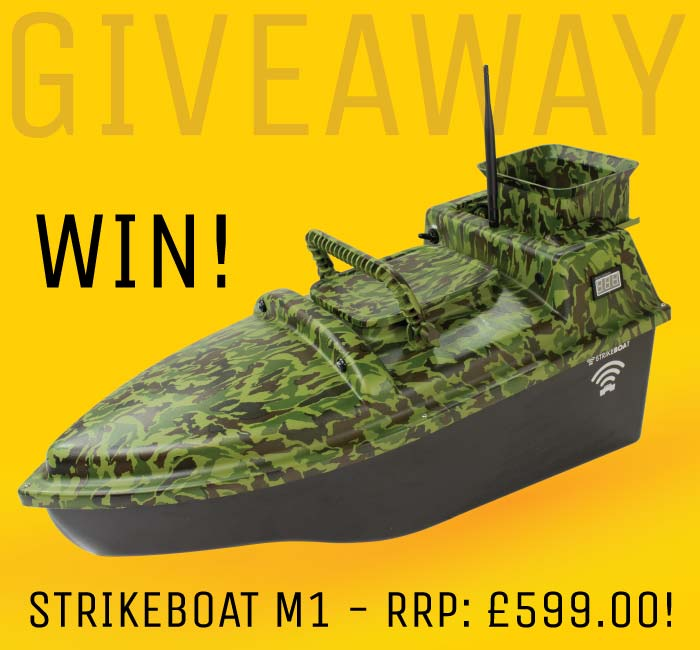 Win a StrikeBoat M1 Worth £599!