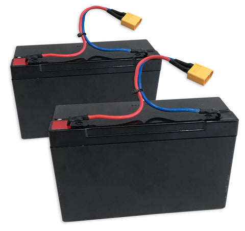 Replacement Lead Acid Battery Twin Pack