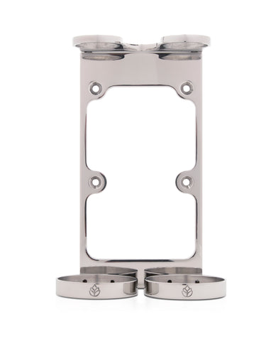 Double Stainless Wall Holder