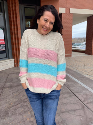 Think Spring Sweater