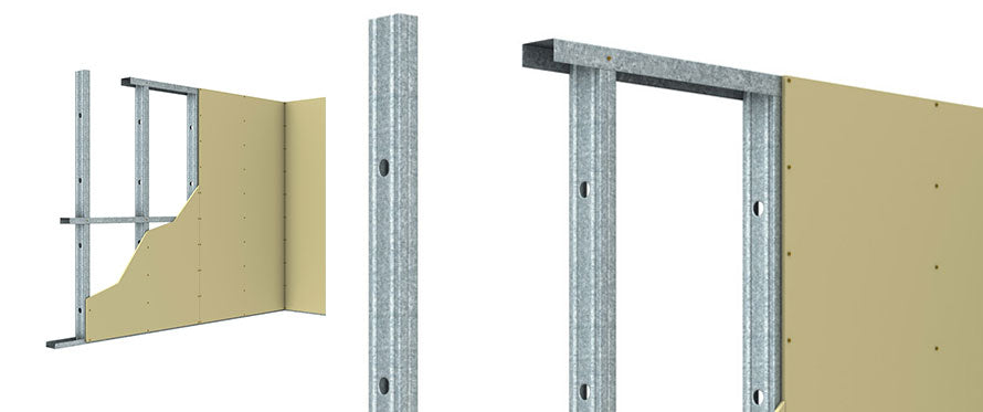 Rondo Steel Stud & Track Drywall Framing System - Visual Interiors