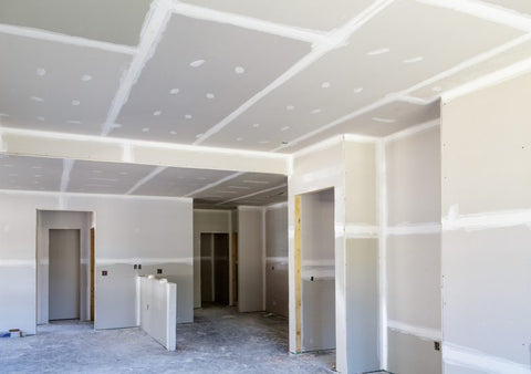 plaster board wall visual