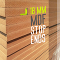 18 mm MDF STOP ENDS