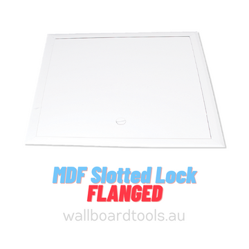 MDF Access Panels - Slotted Lock (Flanged)