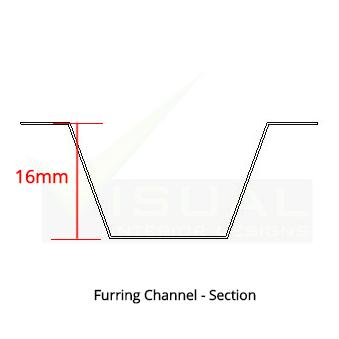 Furring Channel 16mm