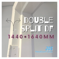 1440mm •  1640mm DOUBLE Split Metal Door Frame