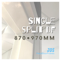 870mm •  970mm Single Split Metal Door Frame