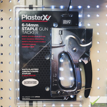 PlasterX 6-14mm Staple Gun Tacker HD