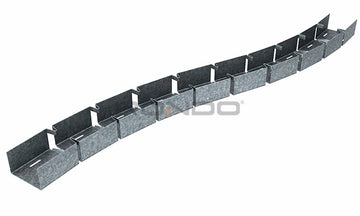 Flexible Wall Track D/H - 0.50BMT