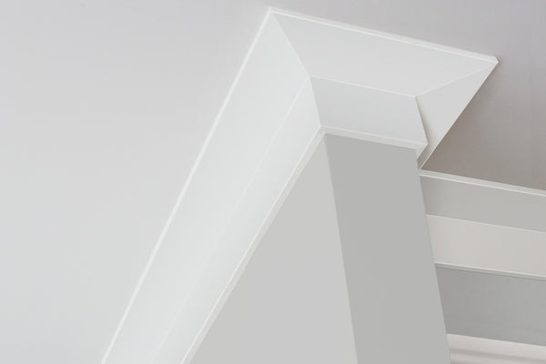 Linear Square Decorative Cornice 75mm