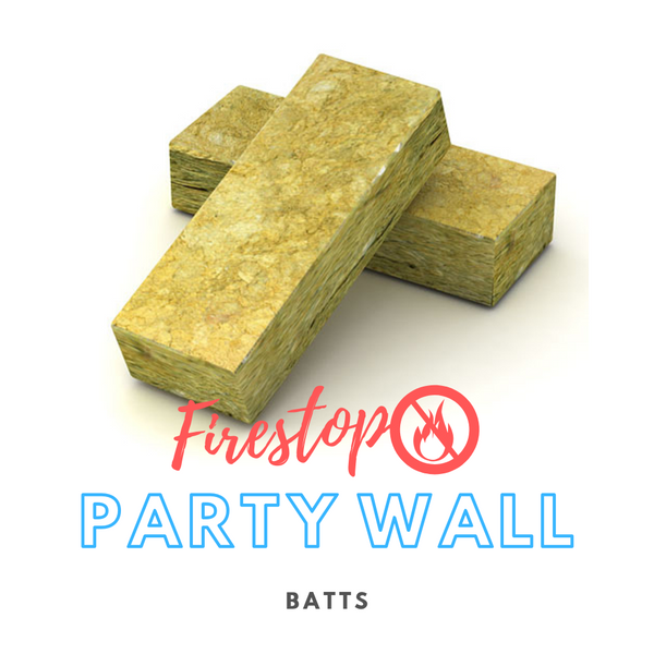 Party wall Fire Stop Batts
