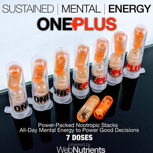 ONE+PLUS - Natural Mental Energy for Enhanced Decision Making Performance