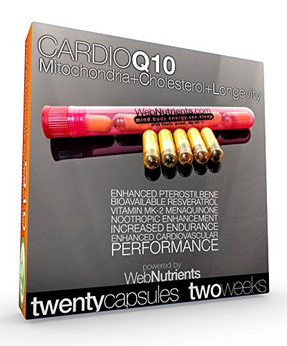 CardioCOQ10 - AntiStatin, Cardiovascular and Hormone Performance.